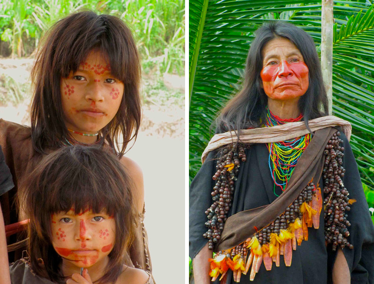 Ashanink'a people live within the borders of the newly protected areas. Photos by Enrique Ortiz.