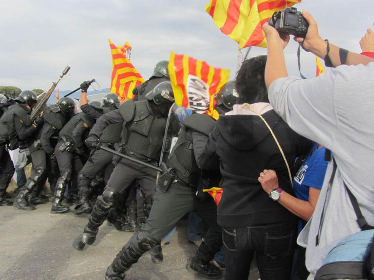 Los ecologistas españoles amenazados por el gobierno y los ciudadanos afectados por la crisis económica