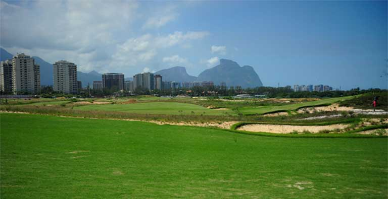 Rio's new Olympic golf course. Photo by Tomaz Silva/Agência Brasil
