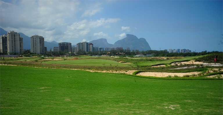 Rio's new Olympic golf course. Photo by Tomaz Silva/Agência Brasil