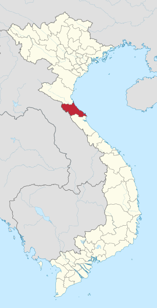 Vietnam's Ha Tinh province. Image by TUBS/Wikimedia Commons