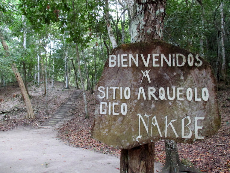 Located inside the Mirador-Rio Azul National Park, Nakbé is one of the oldest known Mayan cities. Most days it receives no visitors. Photo by Sandra Cuffe.
