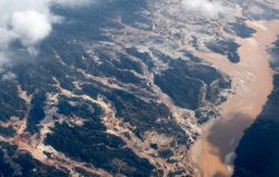 Deforestation from illegal gold mining spreads to northern Peru